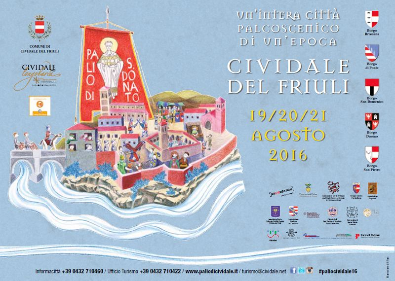 The ''PALIO DI SAN DONATO'' (general program)